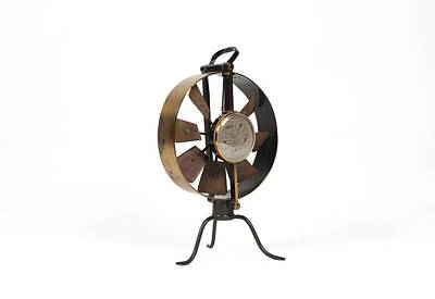 Anemometer Photograph - 19th Century Anemometer by Science Photo Library
