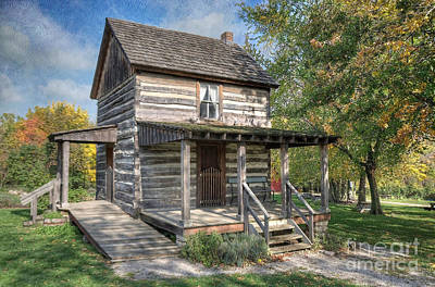 Photograph - 19th Century Cabin by Liane Wright