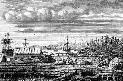 19th Century Cod Fishermen Art Print