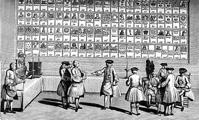 19th Century Freemasons Print by Collection Abecasis