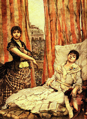 19th Century Morphine Addicts Art Print by Collection Abecasis