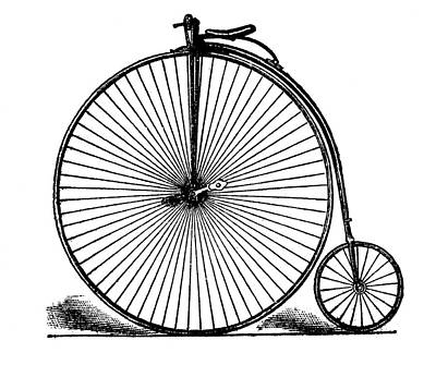 19th Century Penny-farthing Art Print