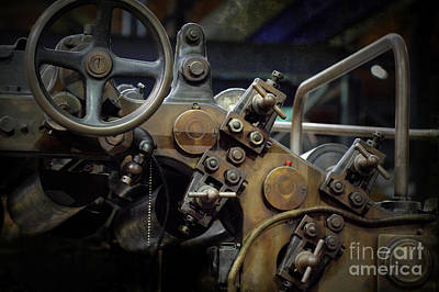 Steampunk Royalty-Free and Rights-Managed Images - 19th Century Printing Press by Heiko Koehrer-Wagner