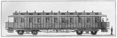 19th Century Railway Wagon Print by Cci Archives
