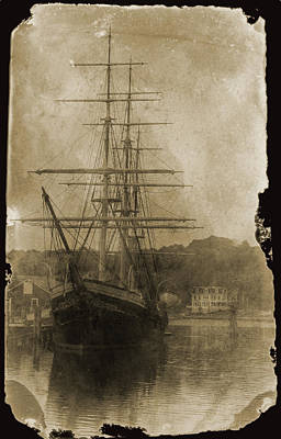 Photograph - 19th Century Schooner by John Haldane