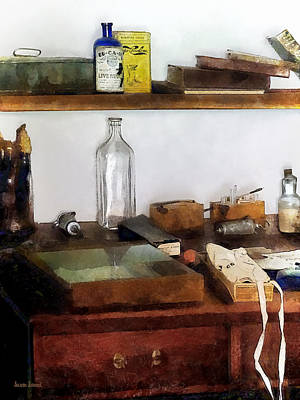 Photograph - 19th Century Veterinarian's Office by Susan Savad