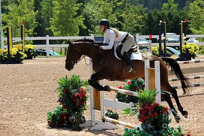 Photograph - 1jumper153 by Janice Byer