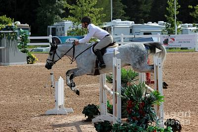 Photograph - 1jumper163 by Janice Byer