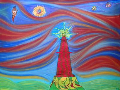 Pastel - 1kin by Robert Nickologianis