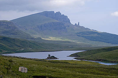 Photograph - Old Man Of Storr Isle Of Skye Scotland by Sally Ross