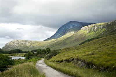 Photograph - Road Trip Scottish Northern Highlands by Sally Ross