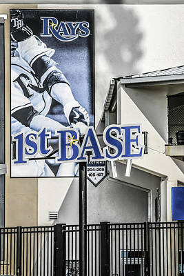 1st Base Original by Chris Smith
