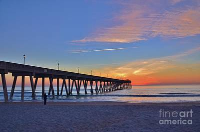 Photograph - 1st Sunrise Of 2015 - 1 by Bob Sample