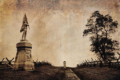 Photograph -  Bloody Lane Aka The Sunken Road by Mick Burkey