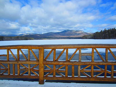 Photograph -  Winter At Chocorua Lake  by Jeffery Akerson