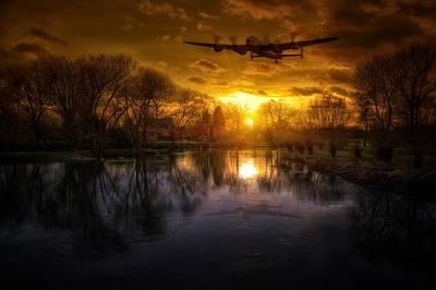 Bomber Command Photograph -  Lancaster Bomber by Jason Green