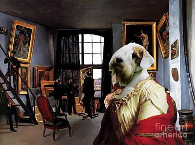 Sealyham Terrier Art Canvas Print  Print by Sandra Sij