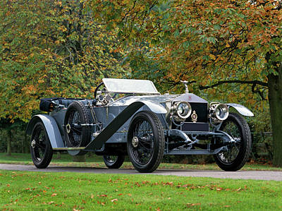 Historic Car Photograph - 1911 Rolls Royce 4050 Hp Silver Ghost by Panoramic Images
