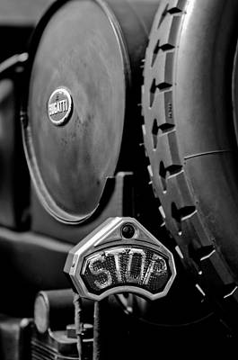 Photograph - 1920 Bugatti Type 13 Taillight by Jill Reger