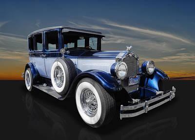 Wire Wheels Photograph - 1927 Buick 4 Door Sedan by Frank J Benz