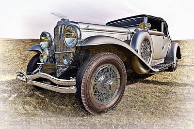 Antique Cars Photograph - 1930-duesenberg-model-j-victoria Convertible by Marcia Colelli