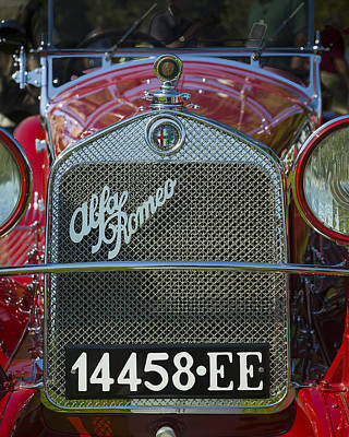Photograph - 1931 Alpha Romeo Type 6c 1750 Gran Sport by Jack R Perry