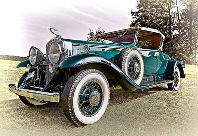 Vehicle Photograph - 1931 Cadillac 452 A V 16 Roadster by Marcia Colelli