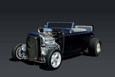 Photograph - 1932 Ford Roadster by Tim McCullough