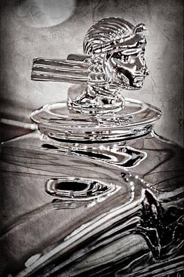 Photograph - 1933 Stutz Dv-32 Dual Cowl Phaeton Hood Ornament by Jill Reger