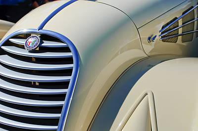 Photograph - 1934 Alfa Romeo 8c Zagato  by Jill Reger