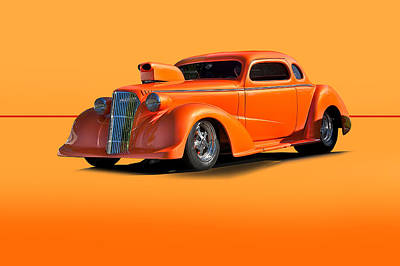 Spot Of Tea Royalty Free Images - 1936 Chevy ProMod Royalty-Free Image by Dave Koontz