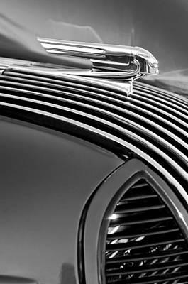 Photograph - 1936 Pontiac Hood Ornament by Jill Reger