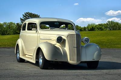 Photograph - 1937 Chevrolet Sedan Hot Rod by Tim McCullough