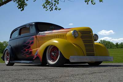 Photograph - 1938 Chevrolet Sedan Hot Rod by Tim McCullough