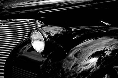 Chevy Coupe Photograph - 1939 Chevy Coupe by David Patterson