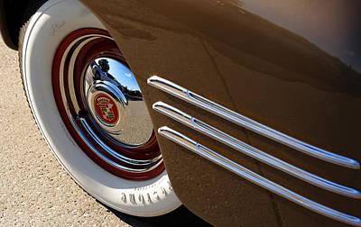 1941 Cadillac Series 62 Convertible Coupe Photograph - 1941 Cadillac Series 62 Coupe by Gordon Dean II