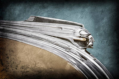 1941 Pontiac Hood Ornament Art Print by Jill Reger