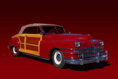 Photograph - 1946 Chrysler Town And Country Convertible by Tim McCullough