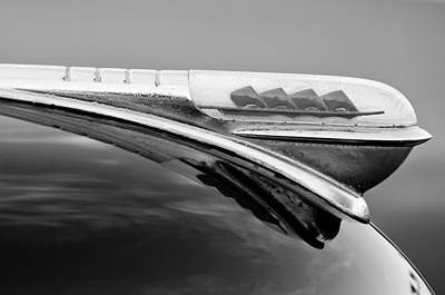 Photograph - 1947 Plymouth Hood Ornament by Jill Reger