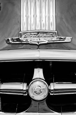Photograph - 1950 Pontiac Grille Emblem by Jill Reger