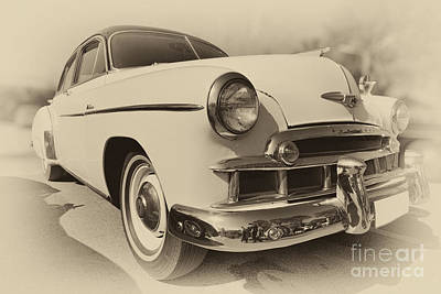 Emblem Photograph - 1951 Chevrolet Skyline by George Atsametakis