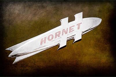 Photograph - 1951 Hudson Hornet Emblem by Jill Reger