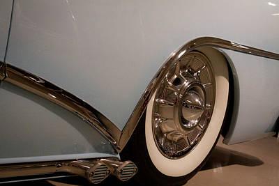 1954 Buick Century Convertible Art Print by David Patterson