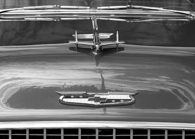 Photograph - 1955 Chevrolet Bel Aire by Rospotte Photography