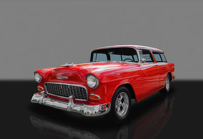 Photograph - 1955 Chevrolet Nomad by Frank J Benz