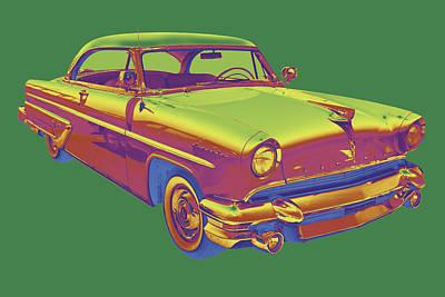 Photograph - 1955 Lincoln Capri Luxury Car by Keith Webber Jr