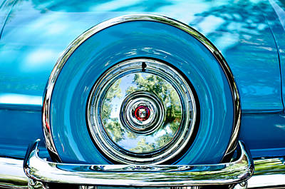 Photograph - 1956 Ford Thunderbird Spare Tire by Jill Reger