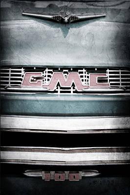 1956 Gmc 100 Deluxe Edition Pickup Truck Art Print by Jill Reger