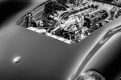 Photograph - 1956 Maserati 150s Engine Emblem by Jill Reger