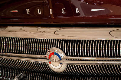 Buick Grill Photograph - 1957 Buick by David Patterson
